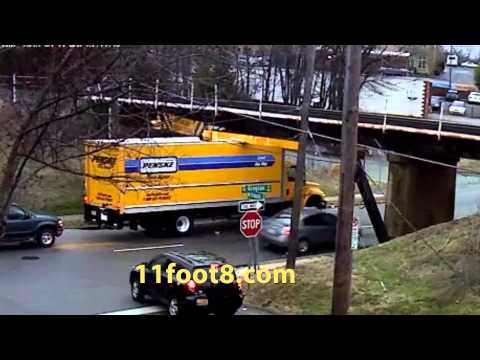 Another rental truck gets stuck under the 11foot8 bridge