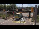 Clean hit at the 11foot8 bridge
