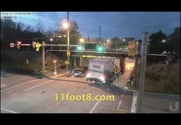Boxtruck returns to challenge the 11foot8 bridge