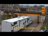 Camper A/C units chewed off by hungry 11foot8+8 bridge