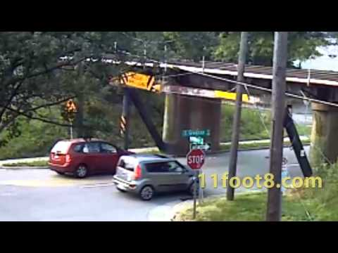 Another camper loses A/C to the 11foot8 bridge