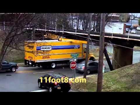 Another rental truck gets stuck under the 11foot8 bridge