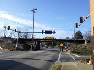Major changes at the 11foot8 bridge