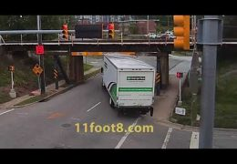 Right turn was the wrong move at the 11foot8 bridge