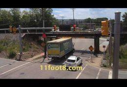 Clean hit at the 11foot8 bridge