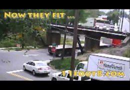 12-foot stacks at the 11foot8 bridge
