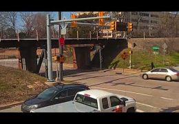 Secret military equipment gets banged up at the 11foot8 bridge
