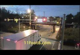 Wakeup call at the 11foot8 bridge