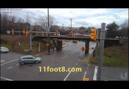 Semi de-cab-itated at the 11foot8 bridge